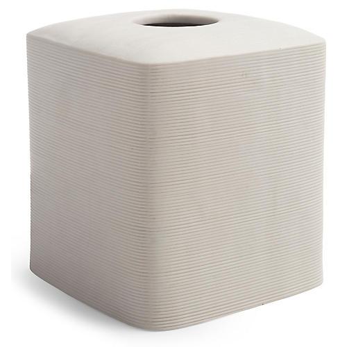 Fillmore Tissue Holder, Ivory