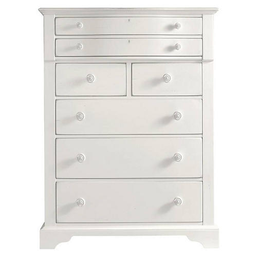 Retreat Dresser, Saltbox White