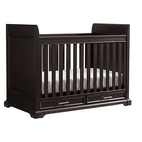 Chelsea Square Storage Crib, Raisin