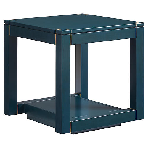 Panorama Parsons Side Table, Oceanic