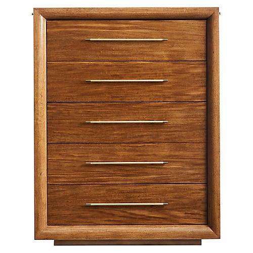 Panorama Tall Dresser, Goldenrod