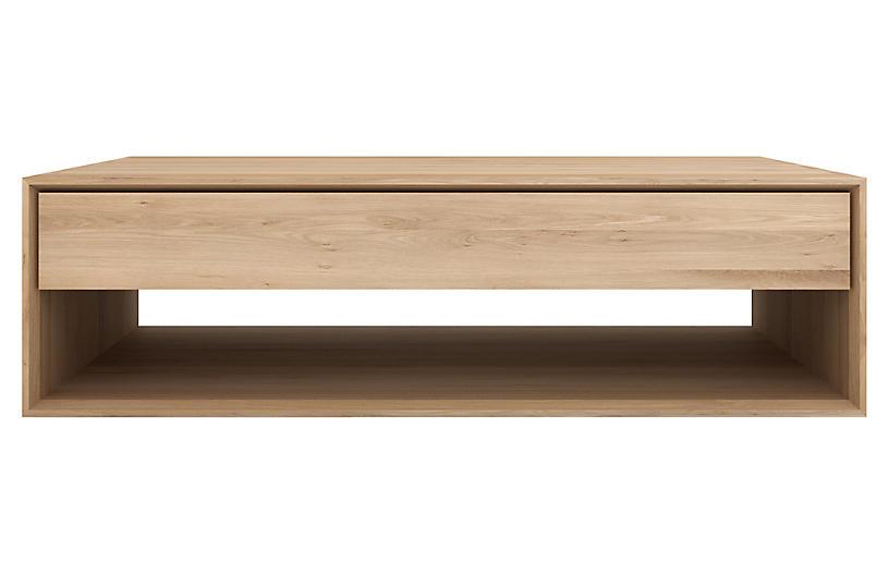 Nordic Coffee Table, Oak