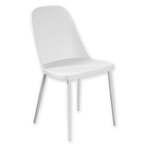 Jensen Accent Chair, White