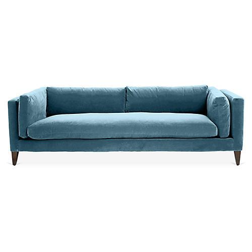 Hyde Sofa, Colonial Blue Crypton