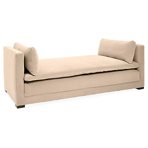 Ellice Daybed, Bisque Crypton