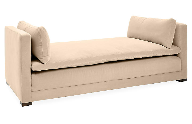 Elmore Daybed, Bisque Crypton