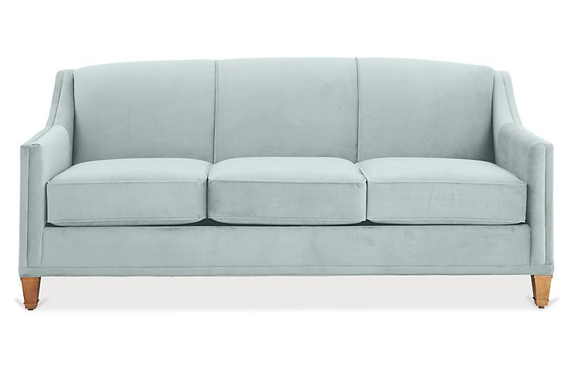 Remarkable Erin Sleeper Sofa Seafoam Crypton Cjindustries Chair Design For Home Cjindustriesco