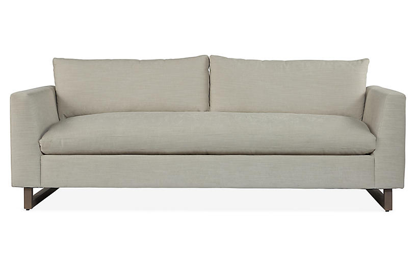 Dolby Bench-Seat Sofa, Cream