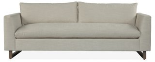 Dolby Bench-Seat Sofa, Cream