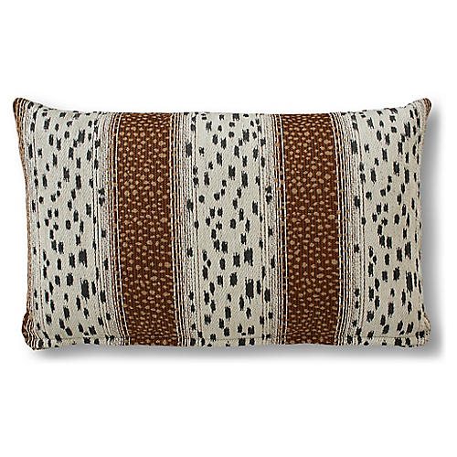 Caroline 15x25 Lumbar Pillow, Copper