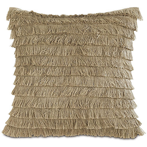 Faye 20x20 Outdoor Pillow, Natural
