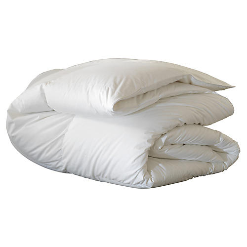Loure Deluxe Comforter, White