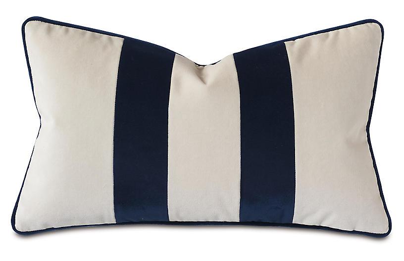 Laney 13x22 Lumbar Pillow, Sea Salt