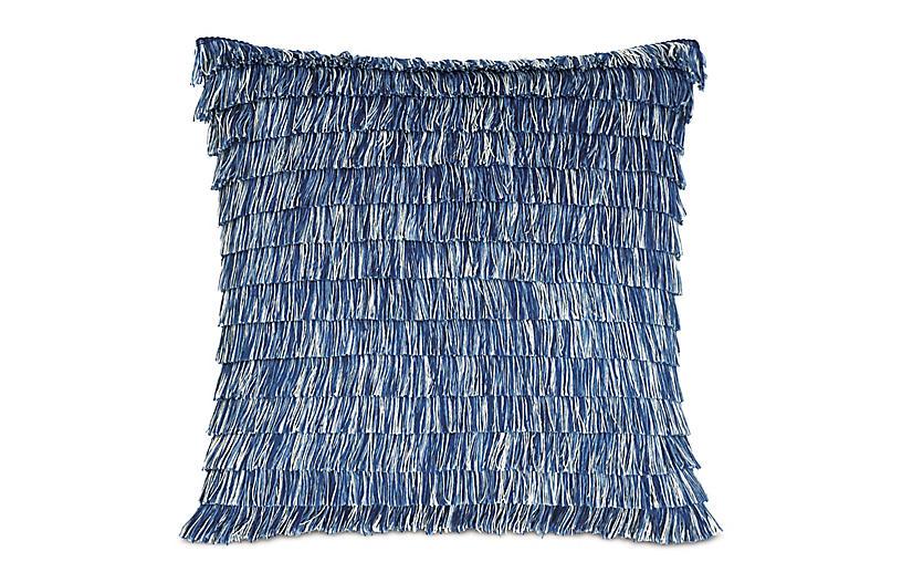 Faye 20x20 Outdoor Pillow, Blue