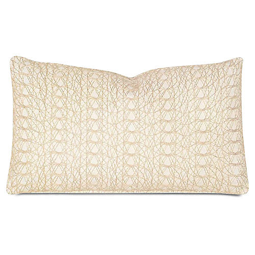 Bramble 13x22 Pillow, Ivory