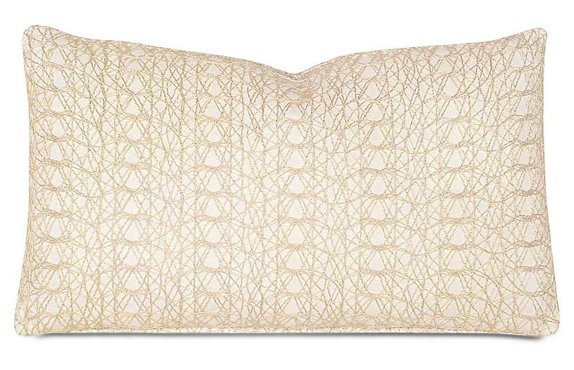 Bramble 13x22 Pillow, Ivory