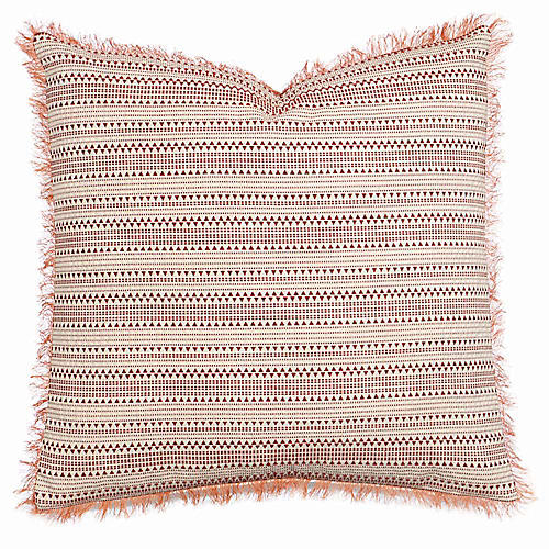 Arlo 24x24 Pillow, Rust