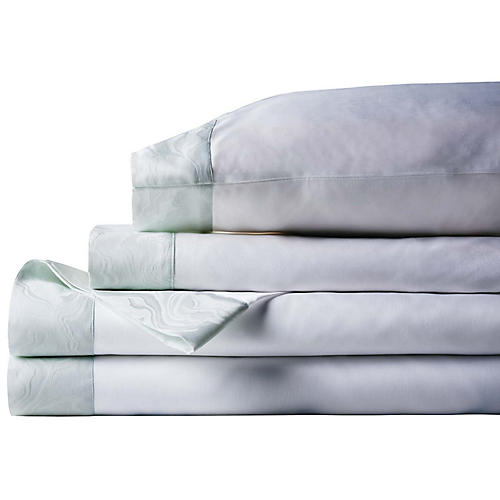 Stratus Sheet Set, Green