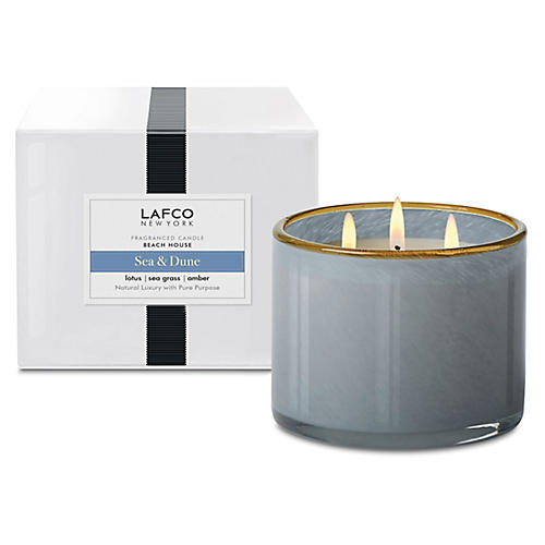 3-Wick Candle, Sea & Dune