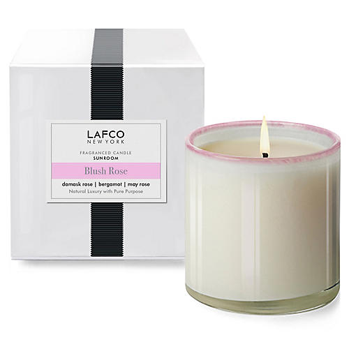 Signature 15.5 oz Candle, Blush Rose