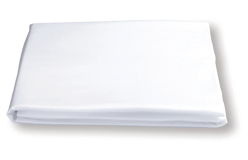 Nocturne Fitted Sheet, White