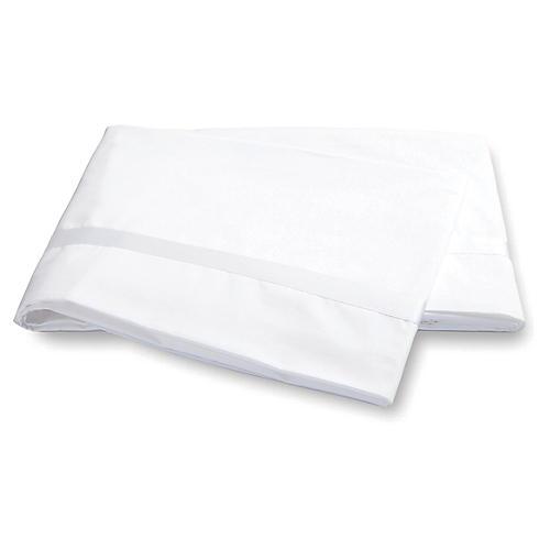 Lowell Flat Sheet, White