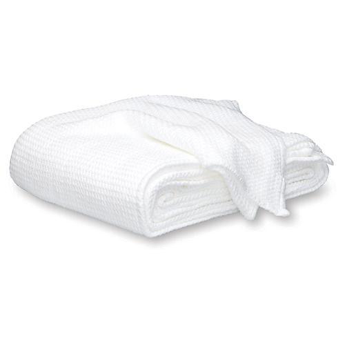 Chatham Blanket, White