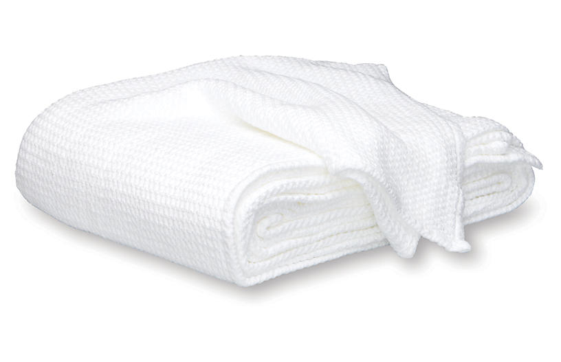 Chatham Blanket, White