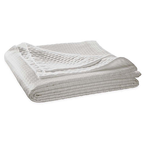 Pearl Coverlet, Silver