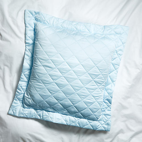 Elido Euro Sham, Light Blue