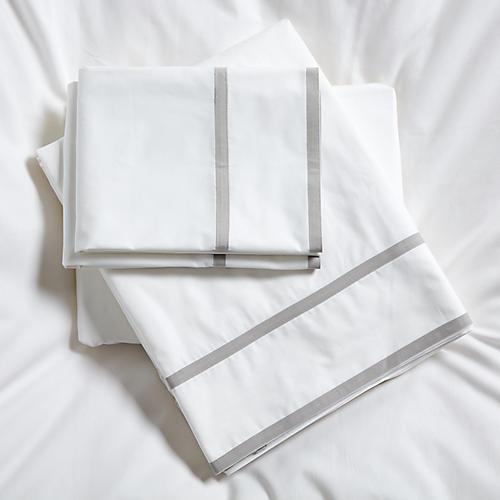 Collana Sheet Set, Silver
