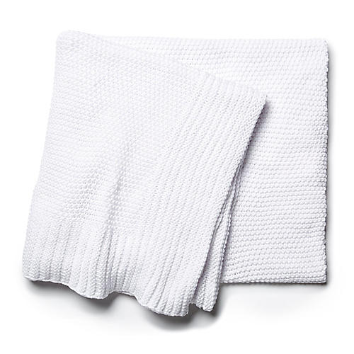 Esme Throw, White