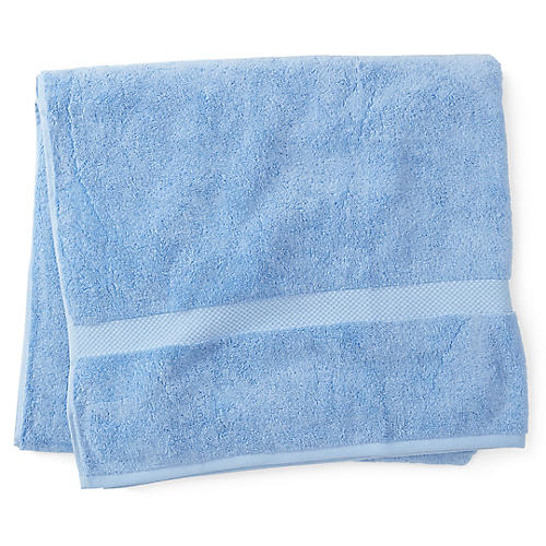 Merano Bath Sheet, Azure