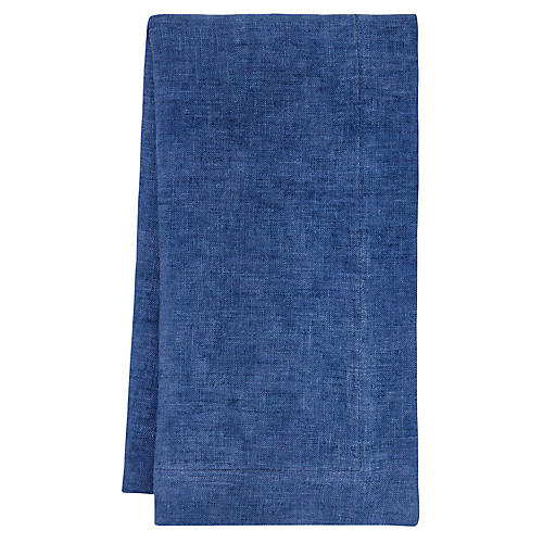 S/4 Fiji Napkins, Sea Blue