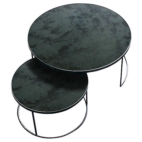 Nesting Coffee Tables, Charcoal