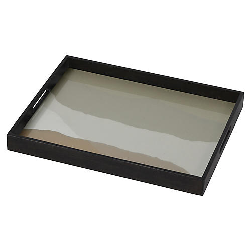 "18"" Wabi Sabi Small Decorative Tray, Sand"