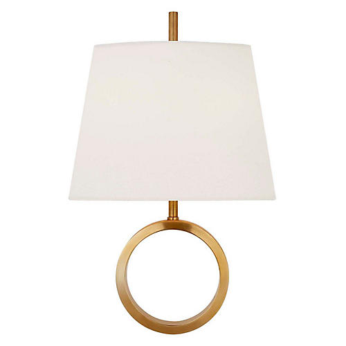 Simone Sconce, Antiqued Brass