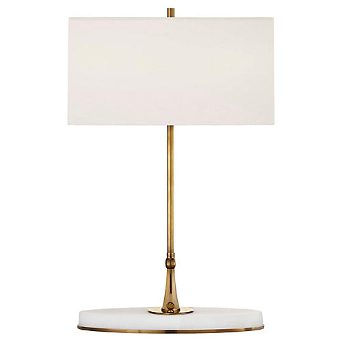 Casper Table Lamp, Antiqued Brass