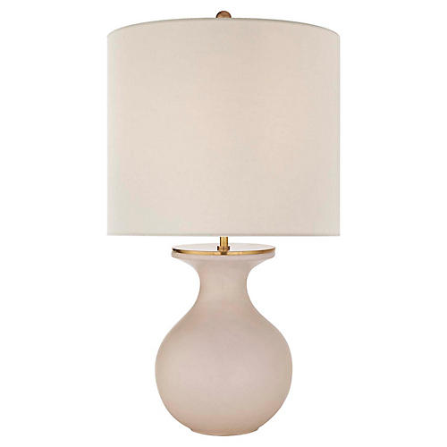 Albie Table Lamp, Blush