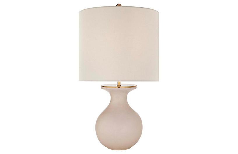 Albie Table Lamp, Blush