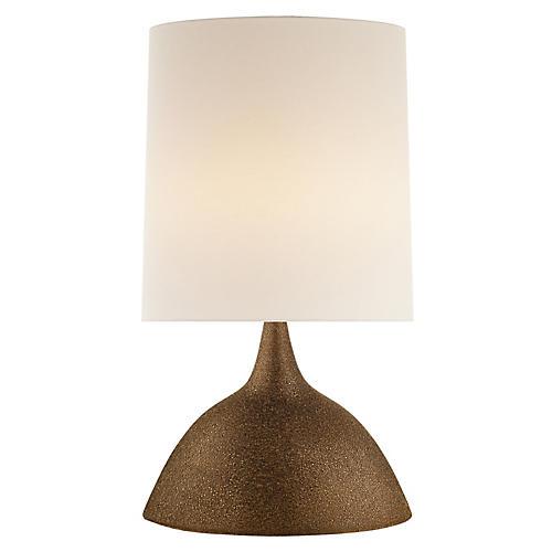 Fanette Table Lamp, Burnt Gold