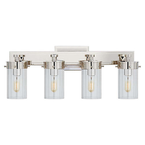 Marais Sconce, Polished Nickel