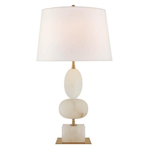 Dani Table Lamp, Brass