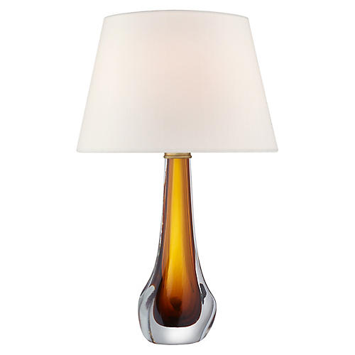 Christa Table Lamp, Amber