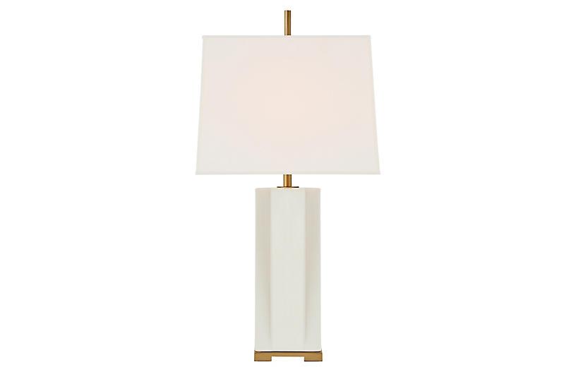 Niki Table Lamp, Ivory