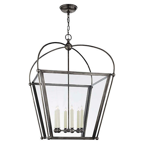Plantation Large Lantern, Bronze