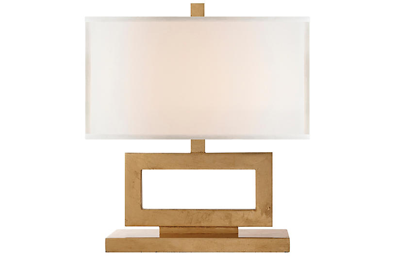Low Mod Table Lamp, Gold