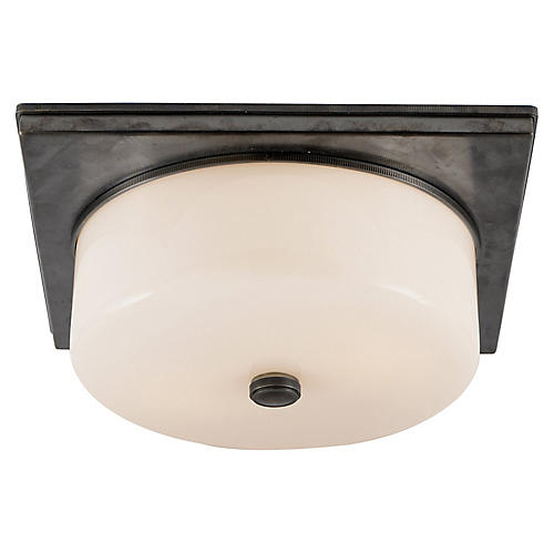 Newhouse Flush Mount, Bronze