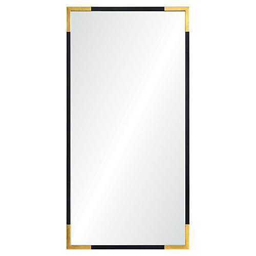 Bonnie Wall Mirror, Gold/Black