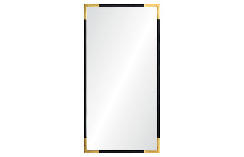 Bonnie Wall Mirror Gold Black